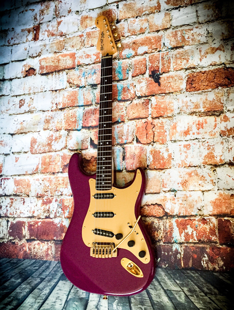 Robert Wood Strat with Wiggins Brand Pickups