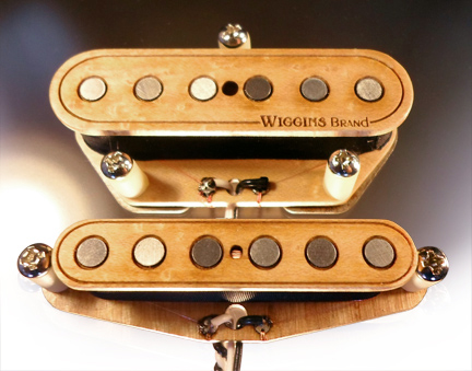 Wiggins Brand Telecaster all wood pickups
