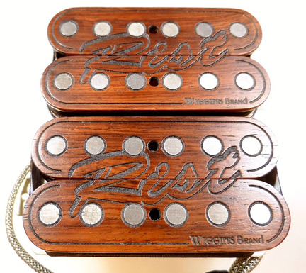 Roman Rist custom humbuckers by Wiggins Brand