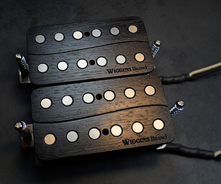Wave Humbuckers Wiggins Brand all wood guitar pickups