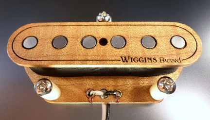 Wiggins Brand Pickups Maple Tele set
