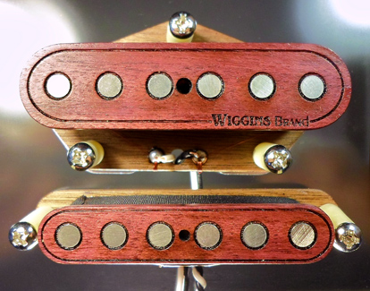 Wiggins Brand Pickups Purpleheart Telecaster set